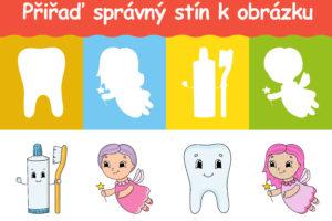Najdi správný stín - hra pro děti