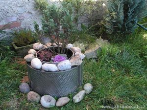 DIY: Ze starého bubnu nový květináč