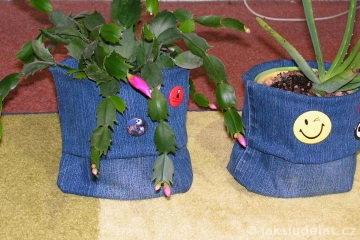Košíky z džín