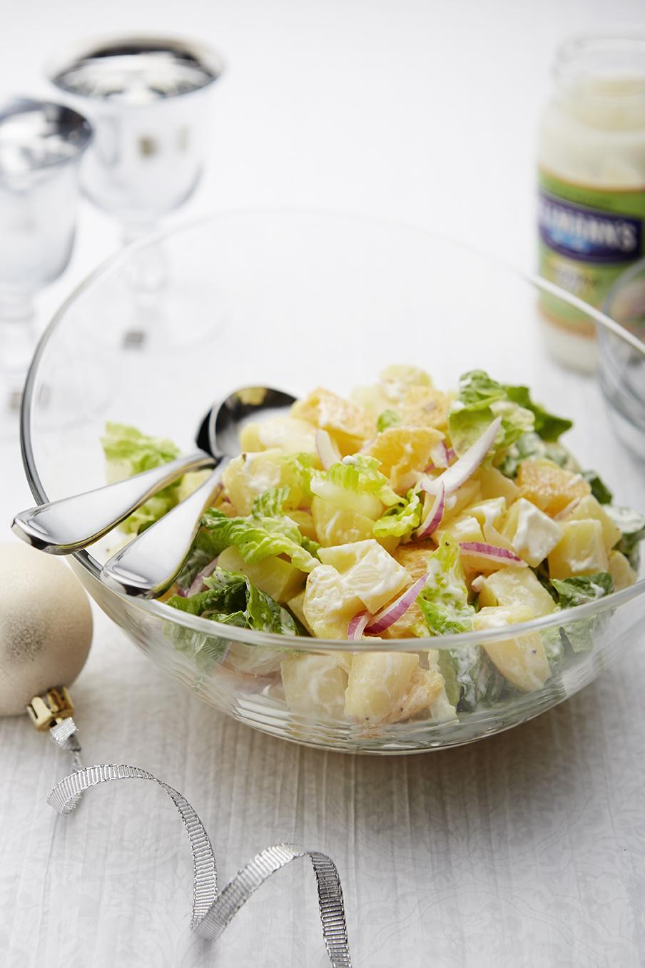 S ledovym salatem