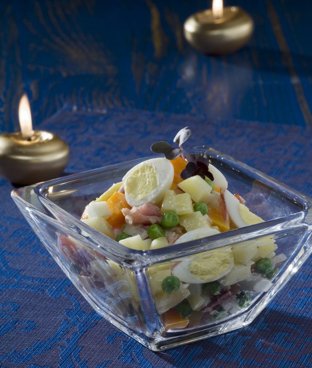 Svatecni bramborovy salat