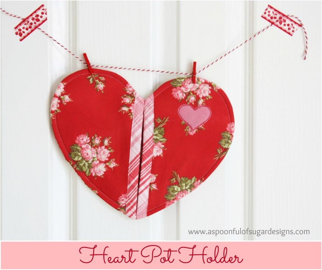 Heart Pot Holder  2