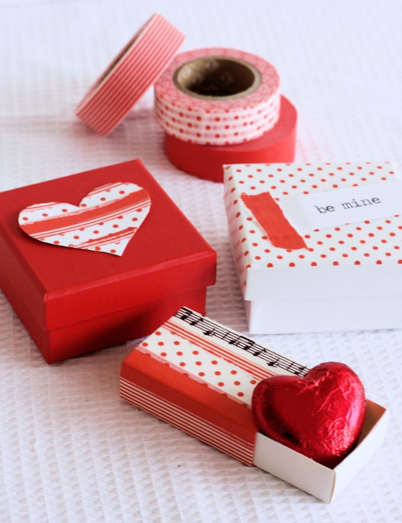Valentines Washi Boxes 1