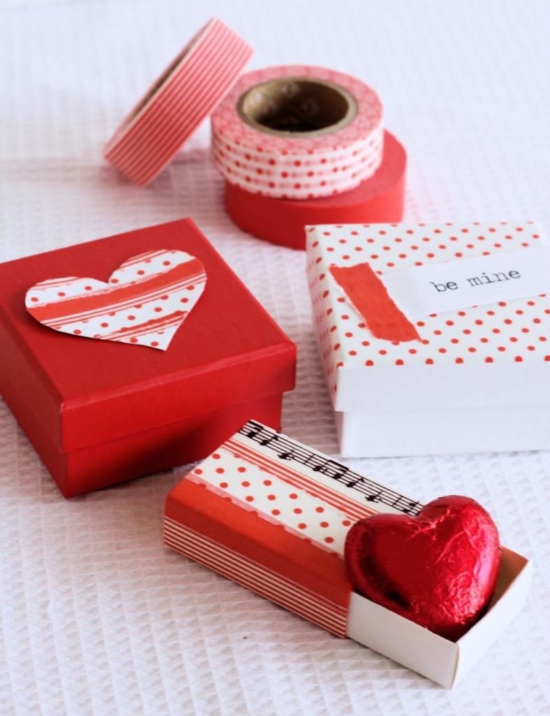 Valentines Washi Boxes 1