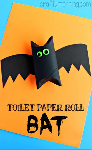 WC ruličky batmani halloween