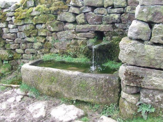 Nádoby se vzhledem kamene nemusí sloužit jen pro rostliny. Uplatní se i na vodu.