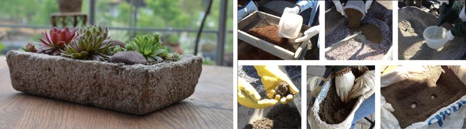 Při výrobě nádob nezapomeňte na odtokové otvory, jinak hrozí přemokření kořenů.