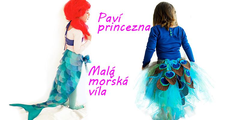 cea566f49014 Karneval na poslední chvíli  Tady je návod na dva holčičí kostýmy vlastní  výroby