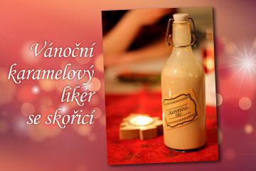 recept-vanocni-karamelovy-liker